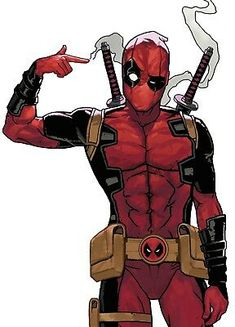 Details about Deadpool Iron On Transfer For T-Shirt & Other Light Color Fabrics #1