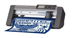 Mesin Cutting Sticker Terbaik Graphtec CE6000-40 PLUS.