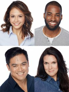Our Headshoot turned out great! Barbara, Trevoy, Tony, and Karri are ready to get booked!