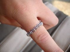 Urnes Customizable Chain maille ring by ValkyrjaAllure on Etsy