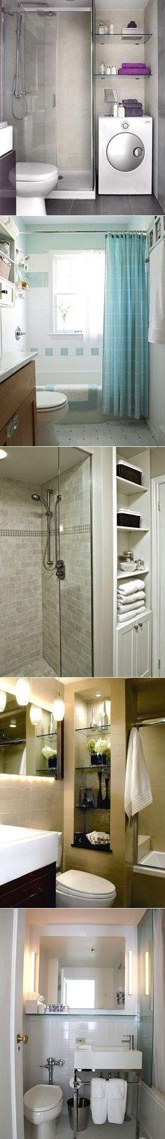 Советы для маленькой ванной комнаты | УЮТНЫЙ ДОМ | советы