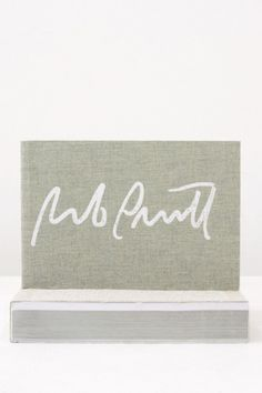 shopkarma:  Rob Pruitt's Autograph Collection Luxembourg & Dayan, New York, 2012 9¾X 5¼ INCHES (24¾ X 13¼ CM) PHOTOS $35PURCHASE