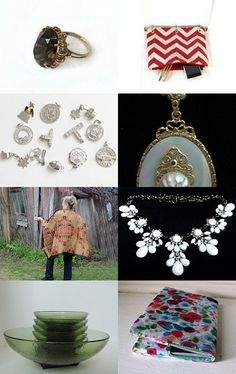 Ecclectic to go Potti Team Treasury by Catherine Boudoir on Etsy--Pinned with TreasuryPin.com