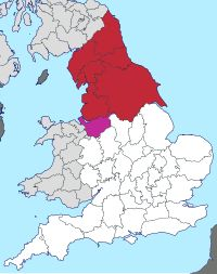 Northern England - Wikipedia Stockton On Tees, South East England, Northern England, Chichester, Middlesbrough, Brighton And Hove, Sunderland, Isle Of Wight, East Sussex