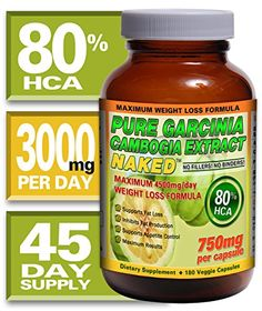 100% Garcinia Cambogia, Extra Strength. 100% Lifetime Money Back Guarantee - Order Risk Free! SuppleSense, LLC  $26.95   http://www.amazon.com/gp/product/B00ECY9E34/ref=as_li_qf_sp_asin_il_tl?ie=UTF8&camp=1789&creative=9325&creativeASIN=B00ECY9E34&linkCode=as2&tag=pormolinkadsc-20&linkId=TLIGTCZUMQJX56MA