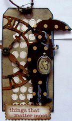 Project Ideas for Sizzix - Tim Holtz - Alterations Collection - Bigz Die - Umbrella Man