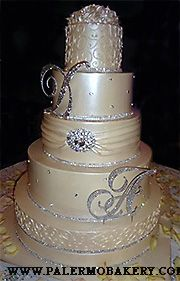 329 best Wedding -- Cakes BLING! images on Pinterest | Birthday ...