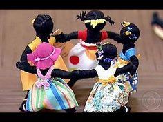 Como Fazer : Boneca Africana Abayomi  [ sem cola ou costura ]