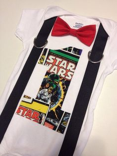 Star Wars first birthday outfit