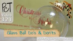 http://www.beadsandbeading.com/blog/?p=16457 Video #321: Learn some important do's and don'ts when adding polymer clay to Christmas glass ball ornaments. The...