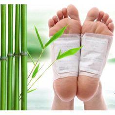 20 шт. = (10 шт. Патчи + 10 шт. Клеи) Kinoki Ноги Detox Патчи Колодки Тела Токсинов Ноги похудения Очищение HerbalAdhesive Горячие FB02