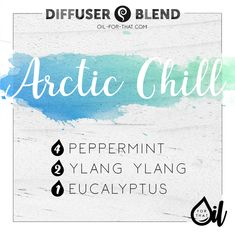 ARCTIC CHILL Essential Oil Diffuser Blend | Oil For That! | Essential Oil Kits and DIYs | US | Lindsay Smith