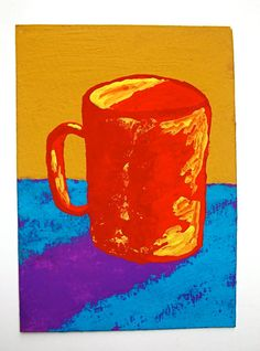 The Morning Cup of Coffee 101 ARTIST TRADING CARDS by MikeKrausArt