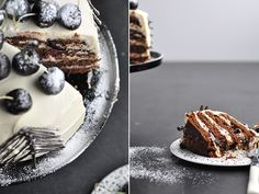 Chocolate cherry rum cake recipe from Fisher & Paykel Social Kitchen