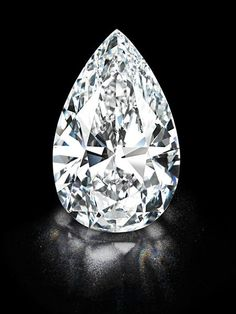 Colourless, flawless 101.73-carats. Acquired at auction by Harry Winston, Inc. (Christie's Geneva).