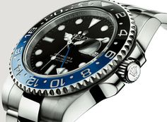 Rolex-GMTII with Black and Blue ceramic bezel, Introduced a tBaselWorld 2013.