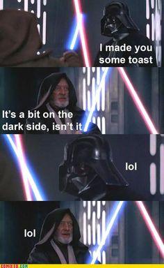 dark side puns rock