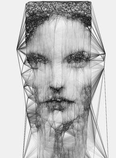 Sergio Albiac  isometrico de un rostro