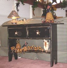 Prim Cabinets - Tables n Benches - Country Quackers Primitives-Primitive Country Home Decor and so much more