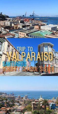 Our day trip to Valparaiso, Chile involved lots of walking and some awesome views out over the city and harbour. It's a scruffy little city but it's full of so much character and beauty -- make time for a day trip to Valparaiso next time you're in Santiago!