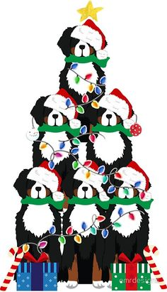 Fantastic No Cost bernese mountain dogs gifts Concepts Over a long time, a Bernese Pile Doggy is a cornerstone with village existence inside Switzerland. Bermese Mountain Dog, Mountain Dogs, Old Dog Quotes, Dog Canvas Painting, Hyper Dog, Christmas Puppy, Christmas Tree, Dog Tree, Dog Wallpaper