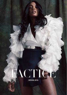 Dawn Richard - Factice Magazine Spring 2016