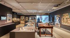 Museo Egizio: Missione Egitto 1903-1920 – una delle sale della mostra #torino #exhibition
