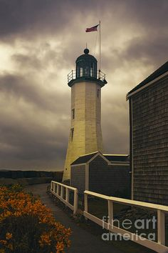 #Scituate #Lighthouse in Scituate #Massachusetts on a stormy day. To view or purchase my prints, visit joan-carroll.artistwebsites.com iPhone covers can be purchased at joan-carroll.pixels.com THANKS!