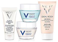 Vichy Hyaluronic Acid Intense Hydration Skin Care Mini Gift Set Net wt 25 fl oz * For more information, visit image link-affiliate link. Ideal Body, Luxury Beauty, Korean Skincare, Hyaluronic Acid, Serum, Baby Gifts, Skin Care, Bottle, Mini