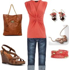 "Great summer outfit - ""Untitled #1"" by tskaggs on Polyvore"