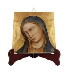 Now on #etsy: Virgin Mary icon on ceramic tile by @terrytiles2014 #virginmary #madonna #holymary #medievalart #avemaria #ourlady #religiousart http://etsy.me/2F5iGYE