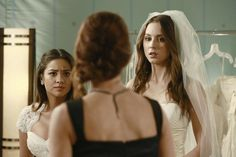 """Pretty Little Liars Season 4 Episode 23 Wedding Photos: """"Unbridled"""" Emily and Spencer"""