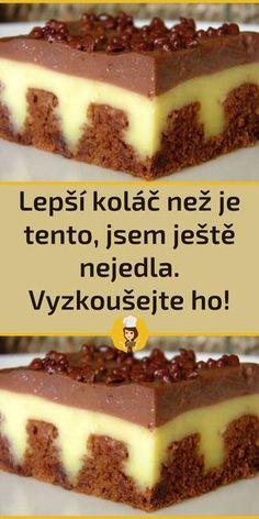Baking Recipes, Cake Recipes, Dessert Recipes, Czech Recipes, Ethnic Recipes, Food Platters, Healthy Treats, Food Cakes, Sweet Recipes