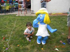 Pitufina piñata