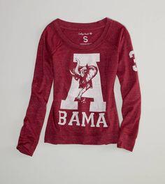 Alabama Vintage Long Sleeve T