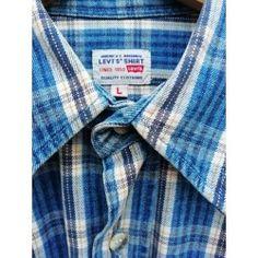 Camicia Levi's Denim vintage Denim Vintage, Levis, Shirt Dress, Fashion Outfits, Mens Tops, Shirts, Style, Swag, Shirtdress