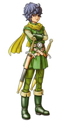 Héroe/Heroína (Dragon Quest X) Character Costumes, Character Portraits, Game Character, Character Design, Dragon Ball, Blue Dragon, Dungeons And Dragons Characters, Fantasy Characters, Dragon Quest X