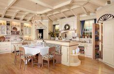 Provence-Stil-Küche / Holz / handgefertigt / gestrichen LUXURY by Carlo Frulla FAOMA