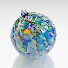 Clair de Lune by Elias Studios: Art Glass Ornament available at www.artfulhome.com