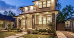 The Jewel in Vickery Place is ready for its sophisticated new owners! Every detail in this home was thoughtfully designed by builder David Leite Custom Homes to achieve an exceptional quality of life and luxury. This 2017 modern Prairie style home has a grand two-story living room, study and library, and features 16 SEER HVAC units, full foam encapsulation, and pier & beam foundation. Private seating area in master with double-sided fireplace. Fitness or children's retreat area is a unique…