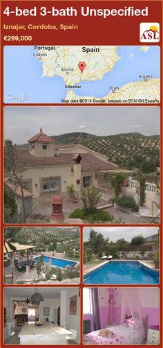 4-bed 3-bath Unspecified in Iznajar, Cordoba, Spain ►€299,000 #PropertyForSaleInSpain
