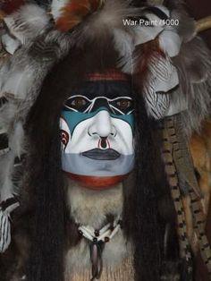 Native Americans Indians - War paint