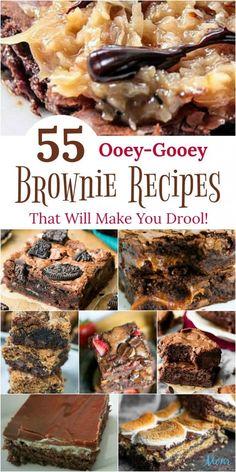 Brownie Recipes, Cookie Recipes, Dessert Recipes, Bar Recipes, Dessert Bars, Dessert Ideas, Yummy Recipes, Sweet Desserts, Deserts