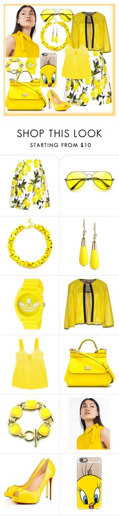 """""""Untitled #70"""" by mediteran ❤ liked on Polyvore featuring Dolce&Gabbana, Slate & Willow, INC International Concepts, adidas, Space Style Concept, TIBI, Zara, Privé and Casetify"""