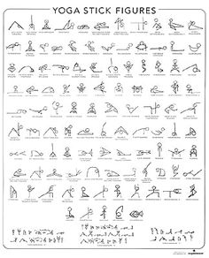 yoga poses in stick figures. maybe print out and pin it up in my room. - yoga poses in stick figures. maybe print out and pin it up in my room. yoga poses in stick figures. maybe print out and pin it up in my room. Yoga Journal, Fitness Journal, Bullet Journal Workout, Vinyasa Yoga, Ashtanga Yoga, Yoga Meditation, Yoga Inspiration, Bras Forts, Yoga Stick Figures