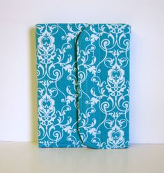 Standable Kindle Fire Cover Kindle Fire HD Cover Nexus 7 Cover iPad Mini Case Nook Tablet Cover Stand Up Tablet Cover Case Turquoise. $39.00, via Etsy.