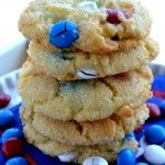 Red, White and Sparkle Cookies!!