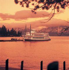 Lake Tahoe Lake Tahoe Nevada, Rivers, Lakes, Ships, Sea, Celestial, Sunset, Travel, Outdoor