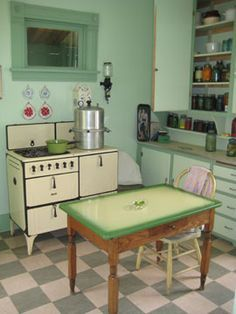 vintage kitchens of the 1930s | 1920's-1930's kitchens - a gallery