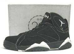 39a4e7dda9d4fb Air Jordan 7 Retro Black White